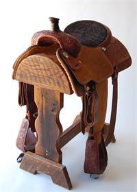 Relentless Tie Down Roper Saddle